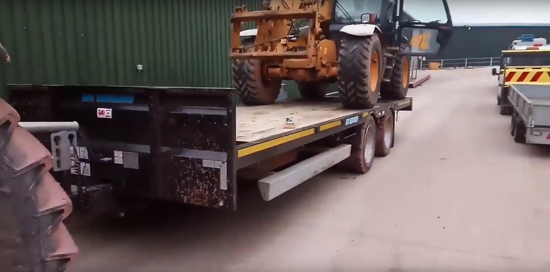 black low loader