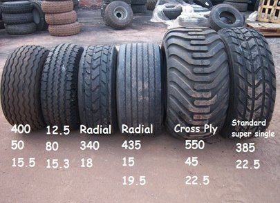 trailer tyres