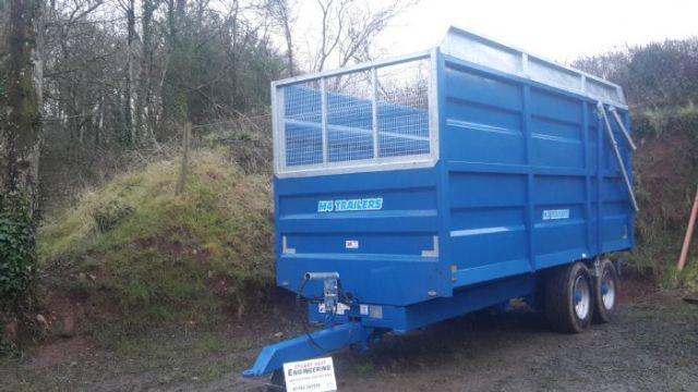 grain silage trailer 5