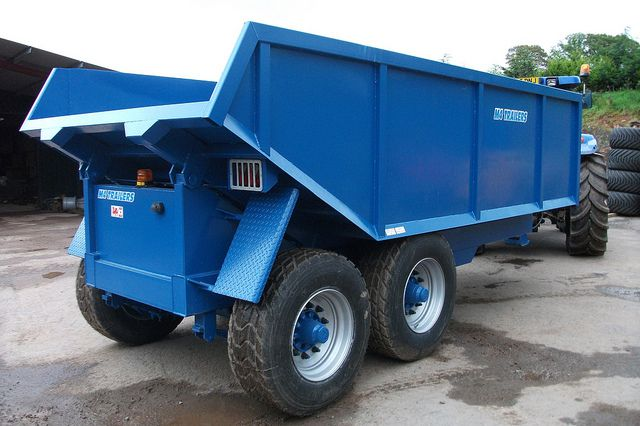 grain silage trailer