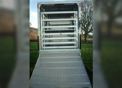 cattle trailer gate