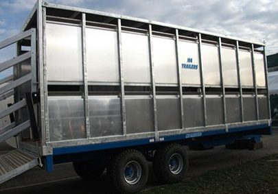 cattle trailer side view 2