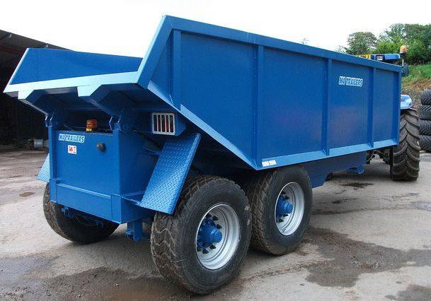 grain silage trailer