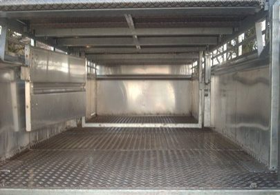cattle trailer inside view 3