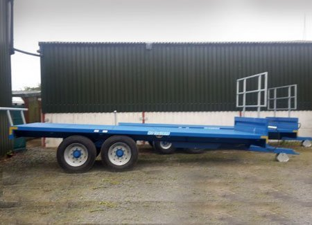 low loader silver head board